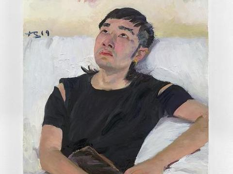 中央美院教授刘小东油画作品