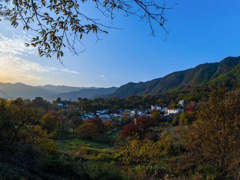 遇见没有晨雾的塔川,不过是普通的乡村风景,你同意吗