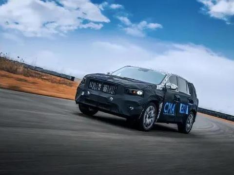 """吉利版""""宝马X5""""来了?定位中大型SUV,顶配或超20万"""