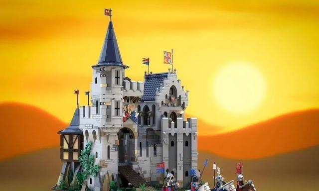 中世纪风格乐高Ideas城堡模型获得10000票支持!