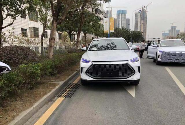 比亚迪全新SUV曝光,DM-i超混技术加持,将新能源进行到底