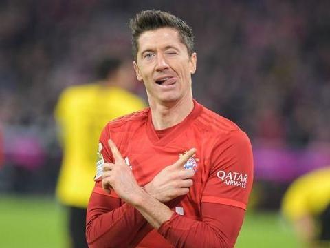 莱万14场20球平穆勒半程进球纪录,拜仁被门兴逆转遭遇赛季第2败