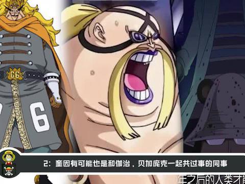 海贼王:分析奎因真实身份!尾田早就暗示他是改造人,是个科学家