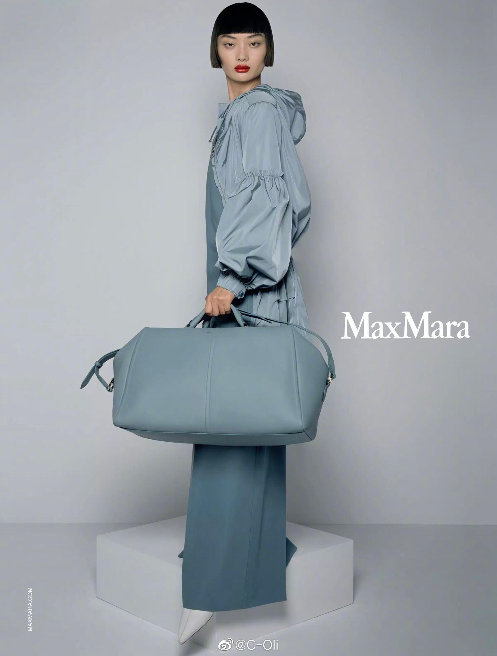 毛小星( @阿星毛 )首次为Max Mara走秀即拿下广告,好棒!……
