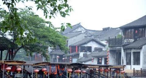 浙江嘉兴西塘古镇,一个充满浪漫气息的地方,情侣旅行绝佳之地