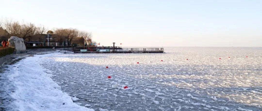 太湖、洪泽湖、骆马湖…冰景图刷屏,一秒到北方!