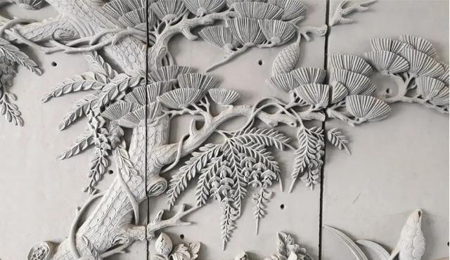 部分年代久远的武山砖雕,被视为无价之宝