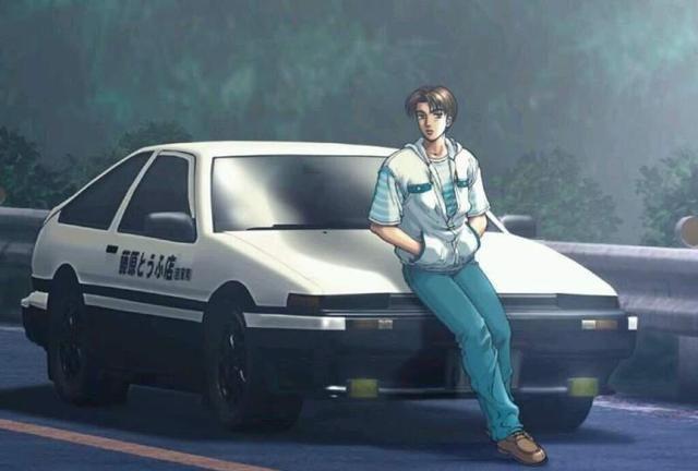 头文字D在亚洲很红的证明,网友目击到处都是藤原豆腐店的专车