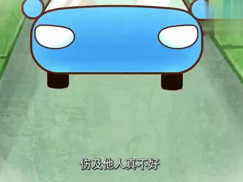 小汽车平稳行驶,突然被高空坠物砸碎玻璃,请勿高空坠物
