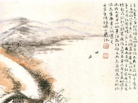 陆俨少48幅高清山水画作品欣赏