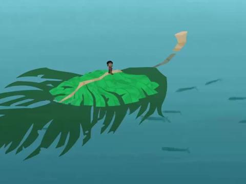 动物兄弟:柯基发现了飞鱼们都在产卵,觉得这应该是它们的巢穴