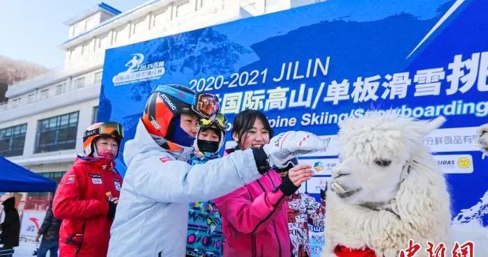 吉林国际高山/单板滑雪挑战赛延吉开赛
