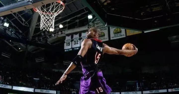 盘点NBA罚球线完成扣篮的十大球星:卡特第三,乔丹仅排第二