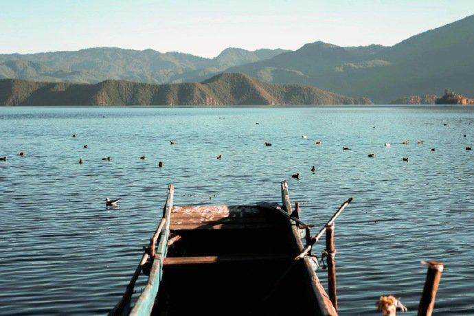 泸沽湖之冬,美矣