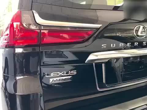 新车实拍2020款雷克萨斯LX570 MBS版,不要太心动!