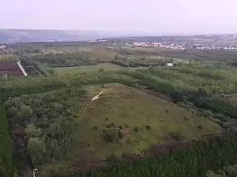 探访刘病已的陵墓,历史上做过牢狱的皇帝,地宫封土像大山!