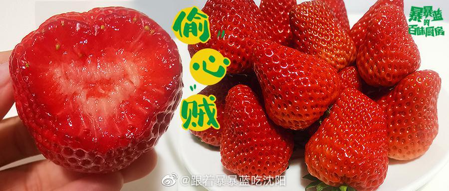口感升级的奶油草莓,带着清新的甜香, 和一丝迷人的奶油味…………