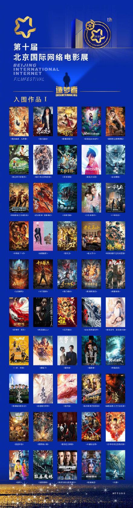 第十届北京国际网络电影展入围作品名单正式公布!