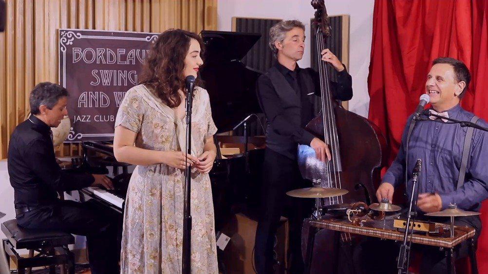 Tatiana Eva-Marie与Stéphane Séva翻唱经典法语歌Jaimerais……