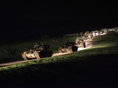 """库尔德武装""""造反""""了?先打土耳其侵略军,再对俄罗斯基地埋炸弹"""