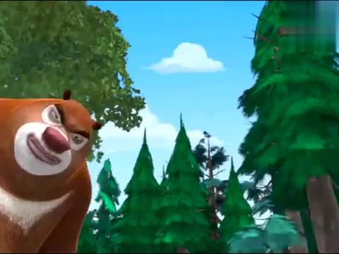 熊出没:光头强中暑了,动物答应光头强乘凉,就是不能砍树了
