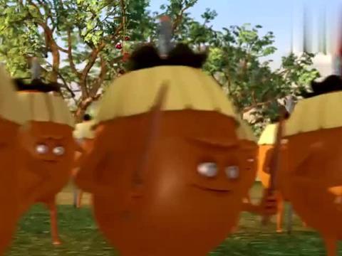 柿子军团攻打土楼,绿萝竟然一个人守住了城门,她是怎么做到的