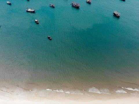 广西北海有个极为小众的海滩,与银滩毗邻,但知道的游人却不多!