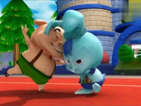 猪猪侠:人不当非要当萝卜,小呆呆神经病吧,人家兔子都不理你