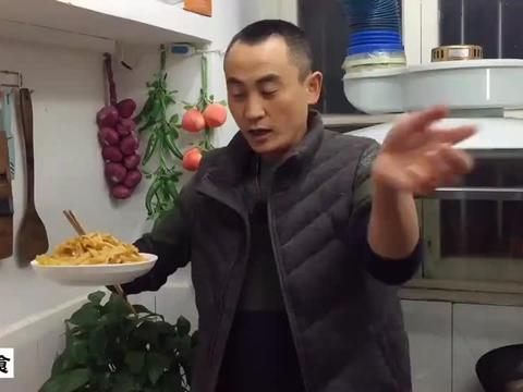 海鲜菇烧土豆条的做法,土豆鲜香入味,做法简单