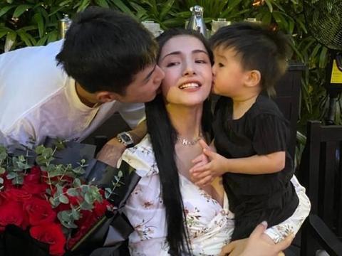 麦迪娜跟儿子去动物园,丹尼尔眼睫毛我懵了,长相没看错吧?