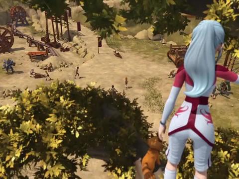 超变武兽:薇薇准备要救阿塔了,也给自己留好了后路