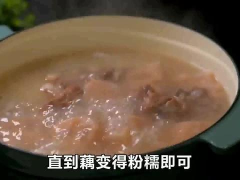 湖北名菜排骨藕汤的正宗做法,记住这三步,莲藕粉糯,汤浓又好喝