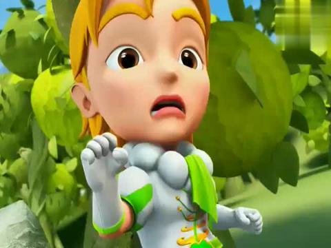 猪猪侠:毒蛙怪攻击青蛙王子,小青蛙集体出动,保护王子