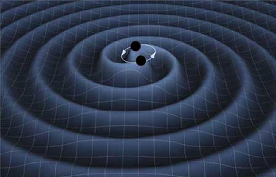 黑洞碰撞的声音,通过引力波,科学家或已首次听到