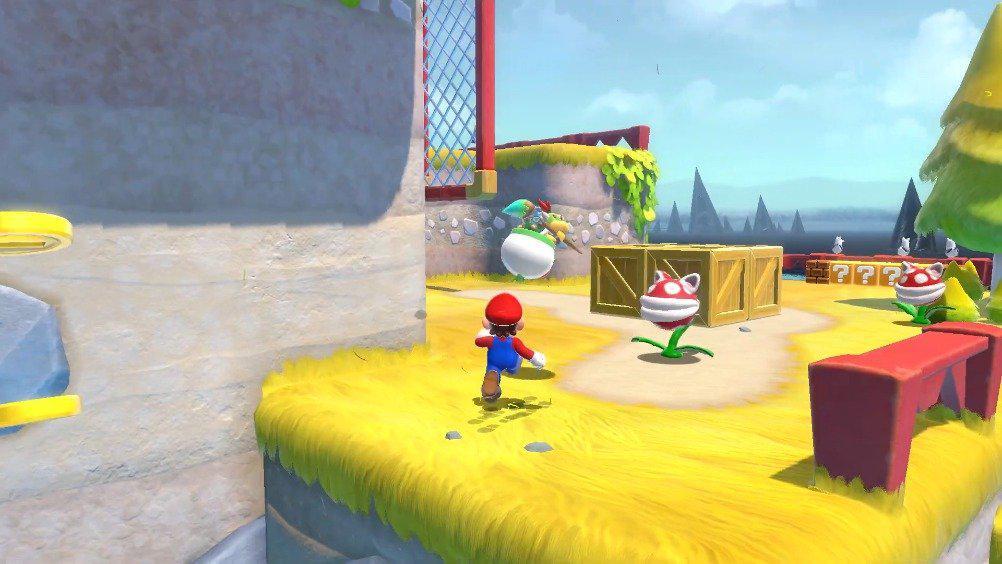 Switch《超级马里奥3D世界+库巴之怒》新游戏演示