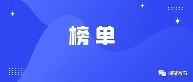 2020年12月湖南教育政务微信排行榜来了,速看