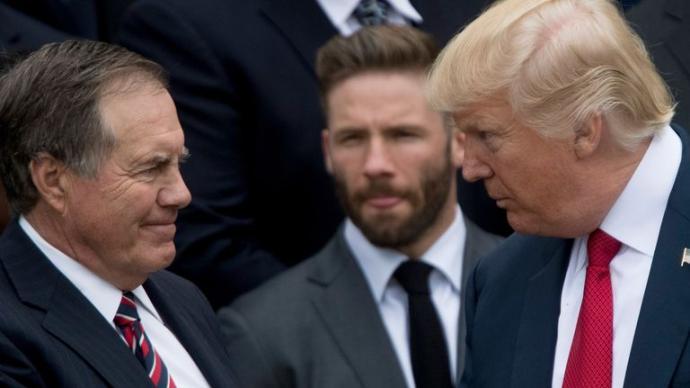 特朗普又被拒绝:美职业橄榄球队名帅拒领总统自由勋章