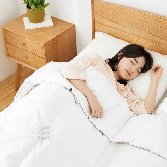 限时5折丨95%匈牙利白鹅绒,透气网格设计,给你整夜温暖