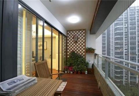阳台装修万万不要装推拉门了,这样设计更漂亮实用,回家立马学装