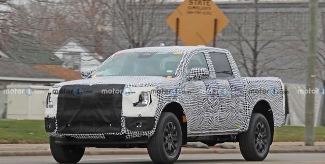 逐步猛禽化 还配插电混动系统 福特Ranger或将2023年正式发布