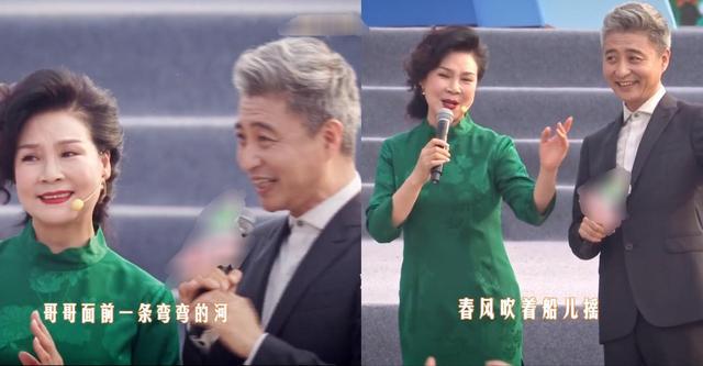 周炜与闫淑萍合唱,脸红害羞比女方显老,结婚20年老婆不会做饭