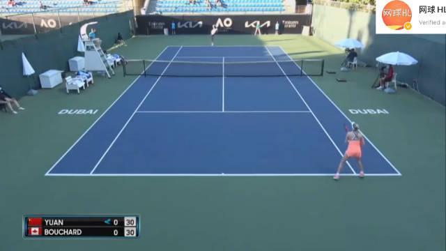 袁悦战胜布沙尔 澳网资格赛第二轮,🇨🇳袁悦6-2/6-4横扫布沙尔……