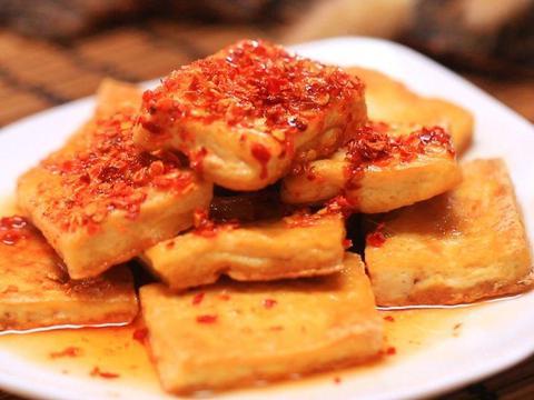 减肥可以吃香煎孜然豆腐吗