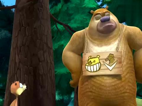 熊出没:熊二这套衣服真复古,再搭配个扇子,好像活佛济公