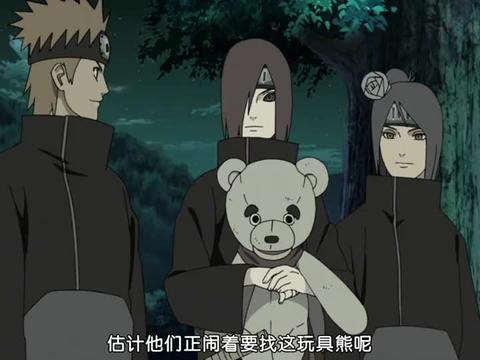 火影忍者:长门真可爱啊,出门总是抱着个熊