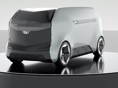 凯迪拉克Halo自动驾驶概念车亮相CES2021 采用生物识别成像系统