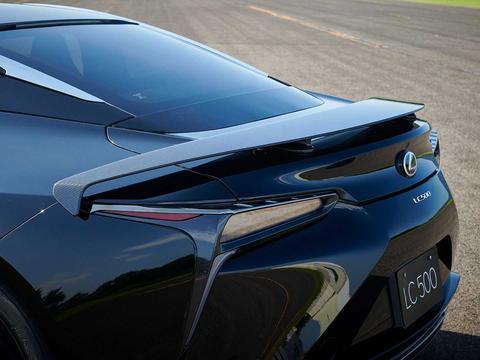 雷克萨斯发布LC 500黑暗骑士限量版车型!
