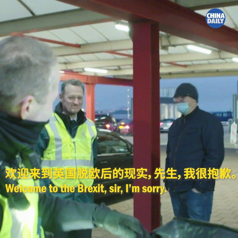 """荷兰边检没收英国司机的火腿三明治 称""""欢迎来到脱欧后的现实"""""""