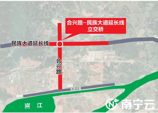 拟修建的两座立交桥位置示意图 佑佳/制图
