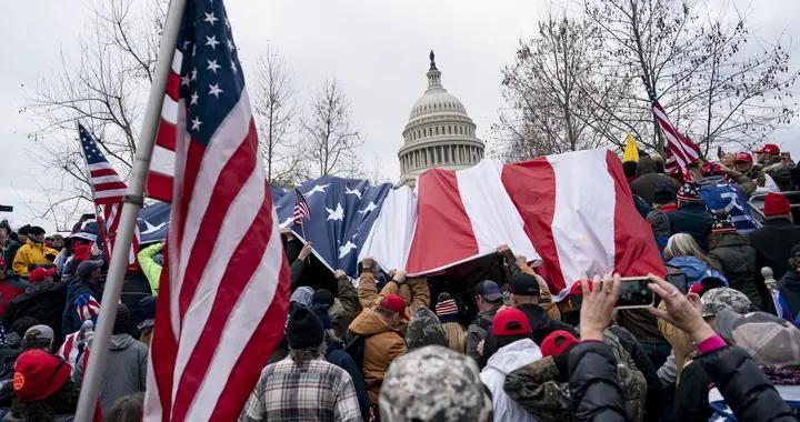 美司法部:两名国会大厦抗议冲突事件犯罪嫌疑人被正式起诉